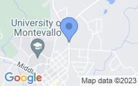 Map of Montevallo AL