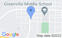 Map of Greenville TX