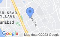Map of Carlsbad CA