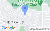 Map of Frisco TX