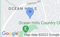 Map of Oceanside CA