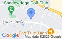 Map of Vista CA