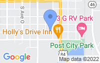 Map of Post TX