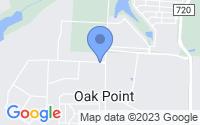 Map of Oak Point TX