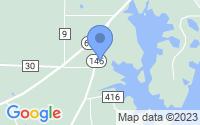 Map of Wilsonville AL