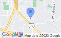 Map of Denton TX