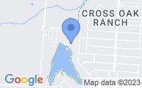 Map of Cross Roads TX