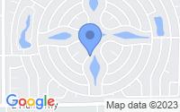 Map of Sun Lakes AZ