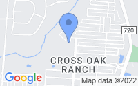 Map of Cross Roads TX