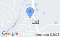Map of Aubrey TX