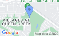 Map of Queen Creek AZ