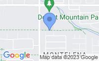 Map of Queen Creek AZ
