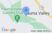 Map of Pauma Valley CA