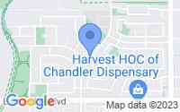 Map of Chandler AZ
