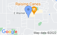 Map of Tempe AZ