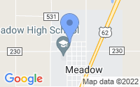 Map of Meadow TX