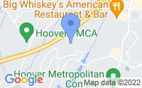 Map of Hoover AL