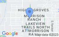 Map of Gilbert AZ