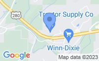 Map of Chelsea AL