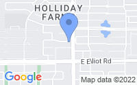 Map of Gilbert AZ