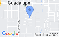 Map of Guadalupe AZ