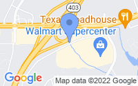 Map of Newnan GA