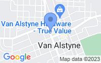 Map of Van Alstyne TX