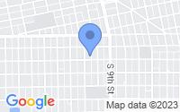 Map of Slaton TX