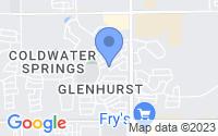 Map of Avondale AZ