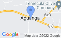 Map of Aguanga CA