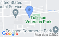 Map of Tolleson AZ