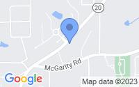 Map of McDonough GA