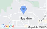 Map of Hueytown AL