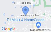 Map of Goodyear AZ