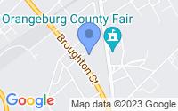 Map of Orangeburg SC