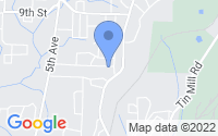 Map of Pleasant Grove AL