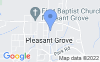 Map of Pleasant Grove AL