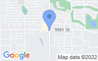 Map of Lubbock TX