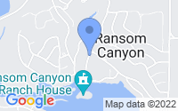 Map of Ransom Canyon TX