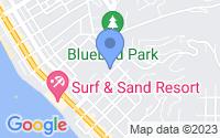 Map of Laguna Beach CA