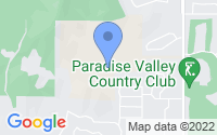 Map of Paradise Valley AZ