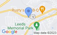 Map of Leeds AL