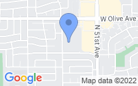 Map of Glendale AZ