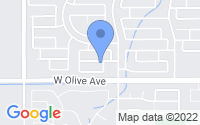 Map of Waddell AZ
