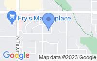 Map of Paradise Valley AZ