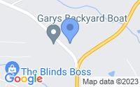 Map of Whitesburg GA