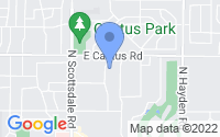 Map of Scottsdale AZ