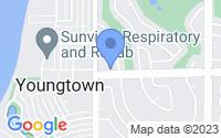 Map of Sun City AZ