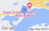 Map of Riverside AL