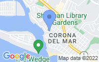 Map of Newport Beach CA